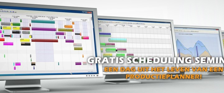 Gratis Scheduling Workshop - productieplanner